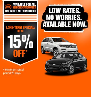 Save Big On Long Term Car Rental Sixt Rent A Car