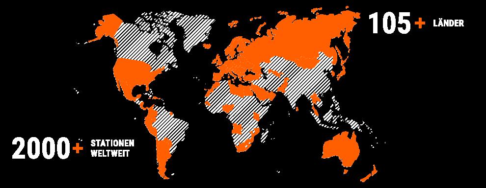 SIXT STATIONEN WELTWEIT